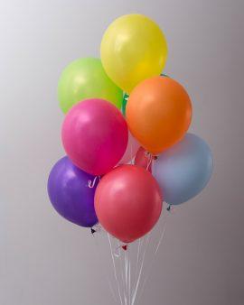 10 Разноцветных Воздушных Шаров