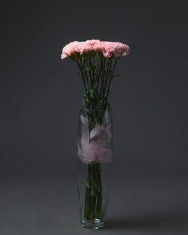 15 Розовых Гвоздик