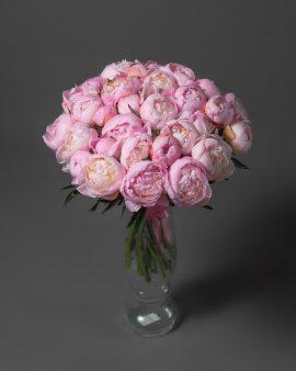 31 Розовый Пион