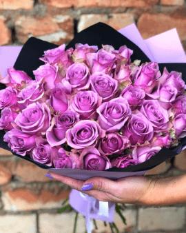 35 Сиреневых Роз