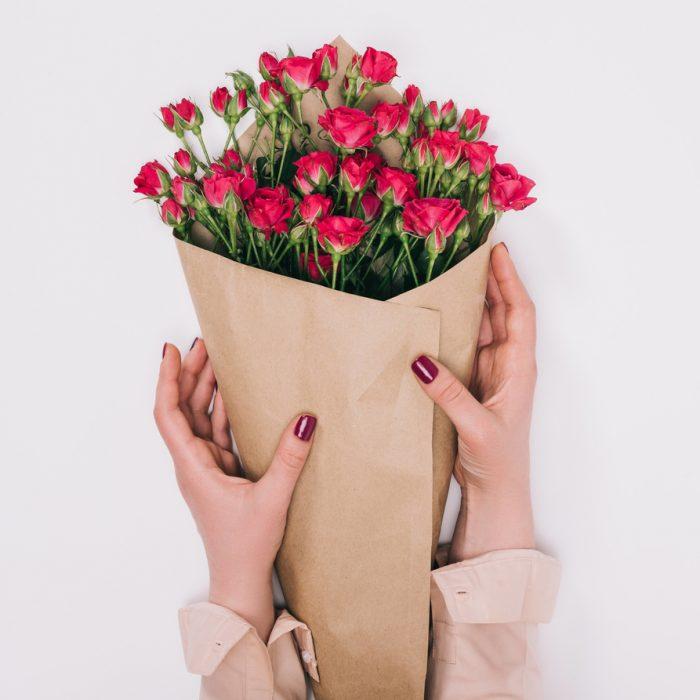 7 Малиновых Роз Кустовых