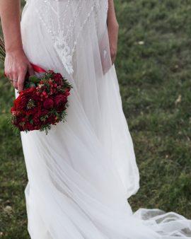 """Букет невесты """"Красный"""""""