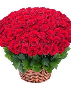 151 Роза корзина