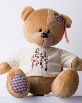 Мягкая Игрушка Медведь Топтыжкин коричневый (30 см.)