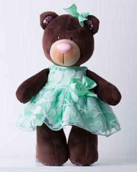 Мягкая игрушка Медведь: Вишня и мята