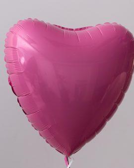 Воздушный Шар Розовое Сердце